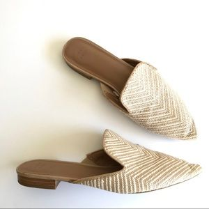 NWOT A New Day Target Woven Rachel Mules 8.5
